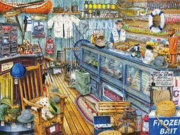 magasin de voile - illustration de magasin de voile