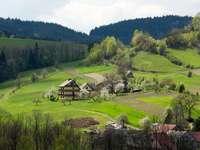 landskap - landskap, panorama, byggnader