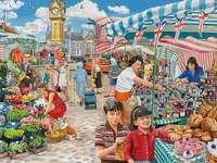 Al bazar della città