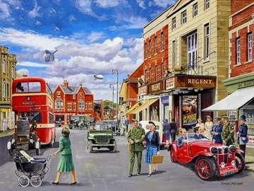 Dans les rues de Londres - Dans les rues du vieux Londres.