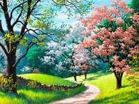 de charmes van de lente