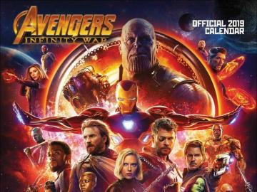 Rächer: Infinity War - Dies ist das Poster von Avengers Infinity War von Marvel. Es ist ein guter Film, schau es dir an.