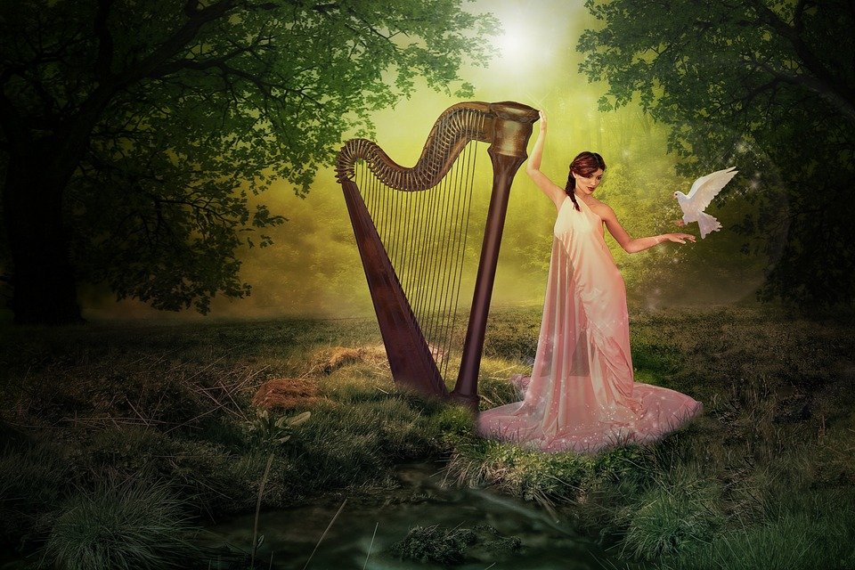 Магическа арфа - Czarodziejska Harfa