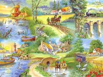 Engelse landschappen.