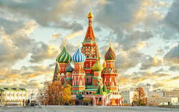 Cathedral of St. Basil in Mosc - St. Basil's Cathedral in Moscow.