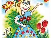 Сезон, дама пролет