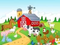la fermă