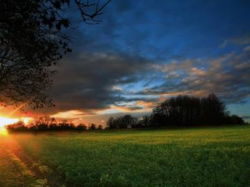 landscape - landscape, sunrise