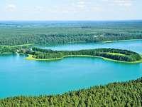 landskap - landskap, sjöar, skogar