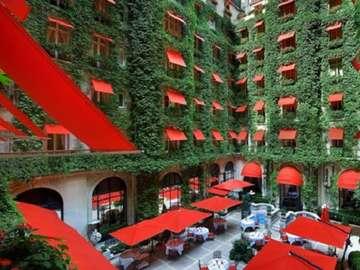 Хотел Paza Athenee в Париж. - Хотел Plaza Athenee в Париж.