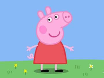 Peppa Pig - Impila i puzzle Scegli un puzzle per creare l'immagine di un maiale vivace