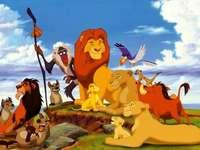 ο λιοντάρι βασιλιάς, παιχνίδι παζλ