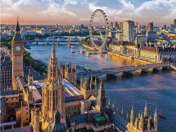 England. London. - English landscape. London.