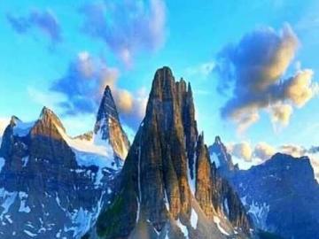 Picos y lagos de montaña - Picos y lagos de montaña