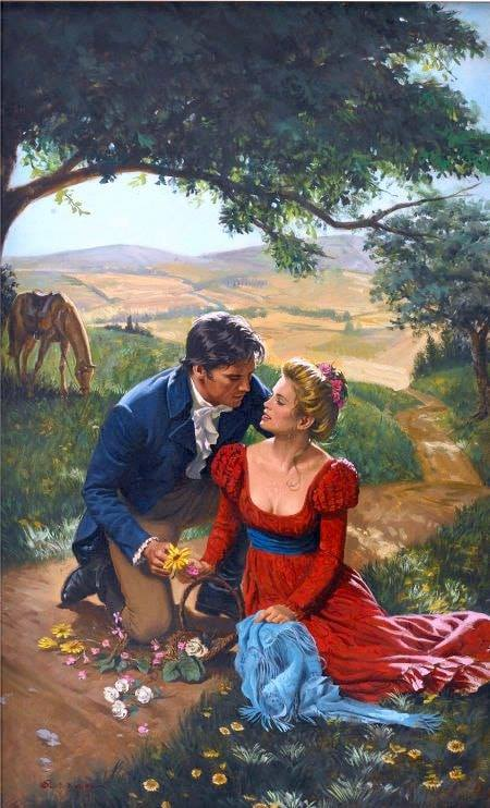 Romantikus találkozó kirakós játék