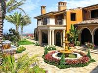Villa on the hill