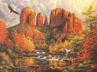 Majestueus landschap.