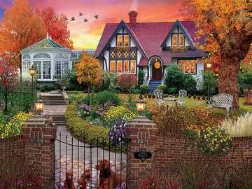 Jesienny krajobraz. - Jesienny krajobraz