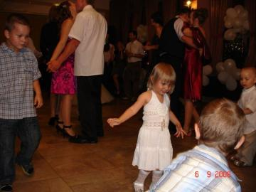 the whole room is dancing - a wedding for one hundred and two the whole room is dancing