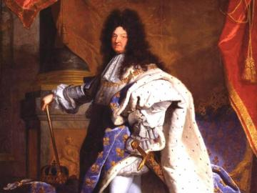Louis XIV - Puzzle a ruler picture!