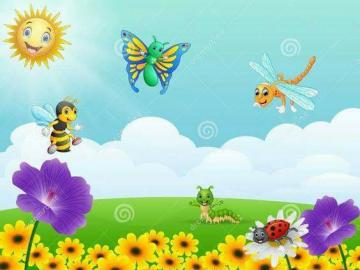 INSECTE PUZZLE - PUZZLE WITH THE INSECTS