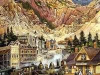 Latina. Montañas rocosas - Latina. Montañas rocosas