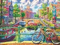 Цветен Амстердам.
