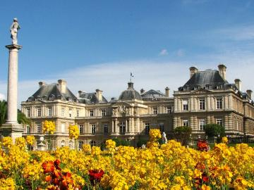Pałac w Luksemburgu. - Budowla. Pałac w Luksemburgu.