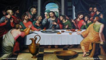 Holy Last Supper - Puzzle about the Lord's Supper.