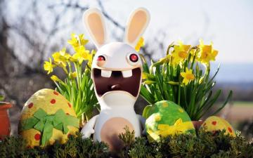 Rabbit from Easter game - It's Rabbids from the Rabbids game