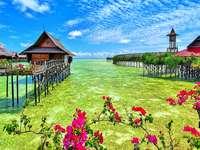 Vista fabulosa - Vacaciones, vacaciones, descanso, turismo.