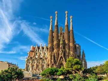 Hiszpania-Barcelona - Hiszpania-Barcelona-Sagrada Famillia