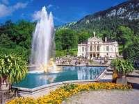 Palacio con jardin - Palacio con jardín, Linderhof, Baviera