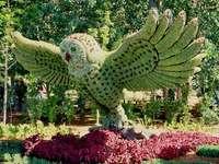 Pássaro floral