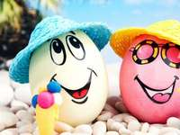 Laughing eggs