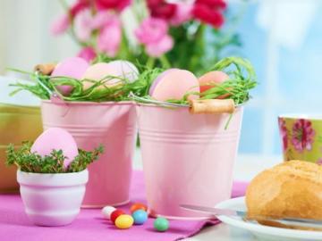 Pastelowe jajeczka - Pastelowe jajeczka wielkanocne