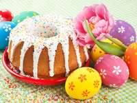 Pâtisseries de Pâques. - Wielkanocne wypieki
