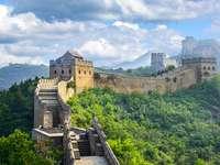 Pared china - Paisaje chino-muralla.