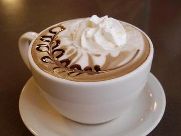 Buen cafe por la mañana - Buen café por la mañana con un corazón.