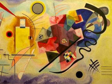 prova Kandinsky - puzzle con quadro di Kandinsky