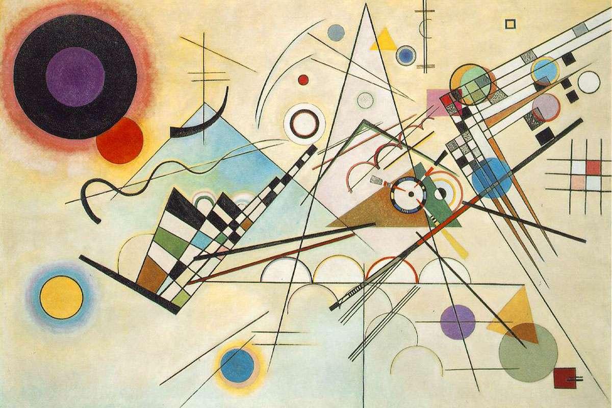 Kandinsky - Bild Kandinsky-pussel (4×3)