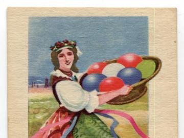 Easter card - Easter postcard.