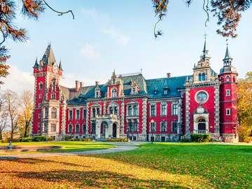Palace in Pławniowice. - A beautiful palace in Pławniowice.