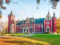 Palacio en Pławniowice. - Un hermoso palacio en Pławniowice.