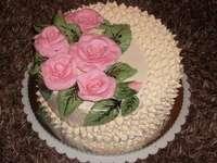 Smakelijke cake - Smakelijke verjaardagstaart
