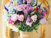 Ein Strauß wilder Blumen