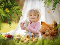 Húsvéti kép. - Wielkanocny obrazek