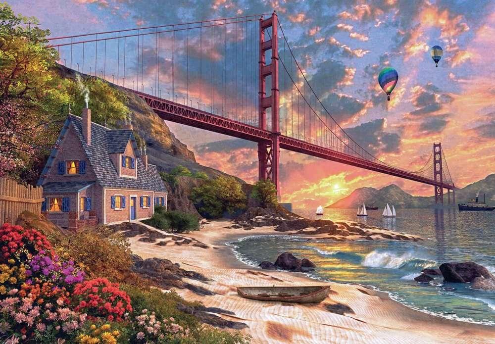 Γέφυρα Golden Gate - Η γέφυρα Golden Gate στο Σαν Φρανσίσκο (12×11)