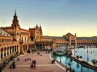 Maravillosa españa - Una hermosa vista de España recta