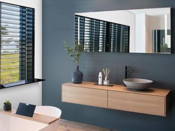Przytulna łazienka - Przytulna łazienka, na styl salonu